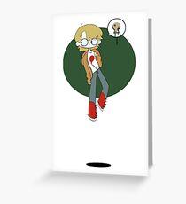 Moi 2 Greeting Card