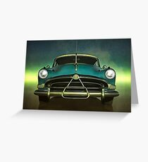 Old-timer Hudson Hornet Greeting Card