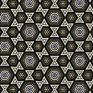BWG Funky Hexagon Pattern by webgrrl