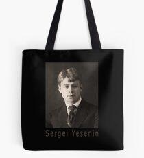 Sergei Yesenin Tote Bag