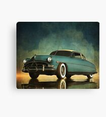 Hudson Hornet oldtimer Canvas Print