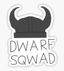 Dwarf squad  Sticker