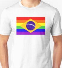 gay flag brazil T-Shirt