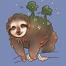 World Sloth is on his way around the sun by Wieskunde