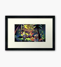Island Empire - Forest Framed Print