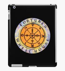 Fortune's Wheelhouse logo on black iPad Case/Skin