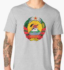 Mozambique Coat of Arms Men's Premium T-Shirt