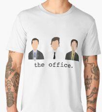 Jim, Dwight, Michael- The Office Men's Premium T-Shirt