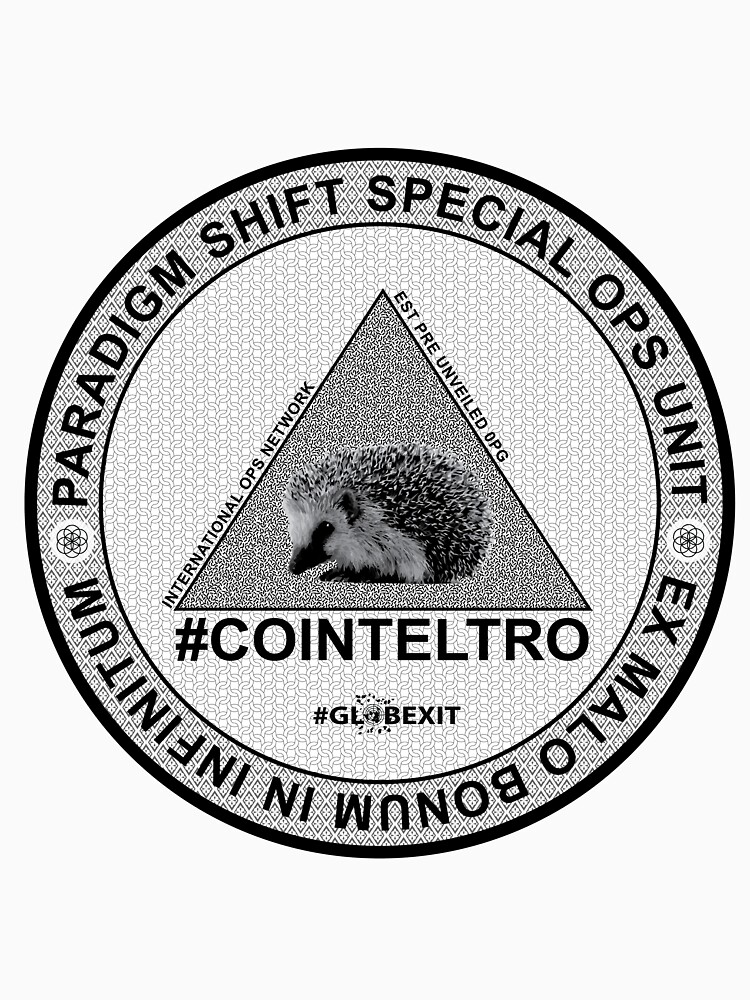 #COINTELTRO FEPE BADGE by GLOBEXIT