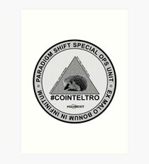 #COINTELTRO FEPE BADGE Art Print