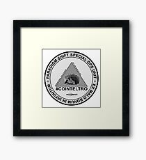 #COINTELTRO FEPE BADGE Framed Print