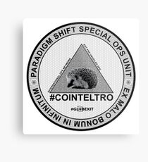 #COINTELTRO FEPE BADGE Metal Print