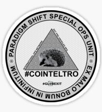 #COINTELTRO FEPE BADGE Sticker