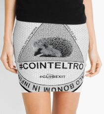 #COINTELTRO FEPE BADGE Mini Skirt