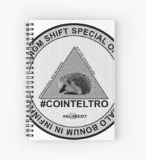 #COINTELTRO FEPE BADGE Spiral Notebook