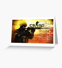 Counter Strike Global Offencive Greeting Card