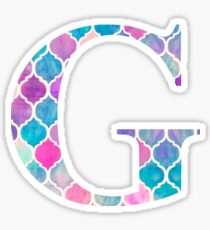 The Letter G Sticker