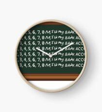 issa bank account Clock