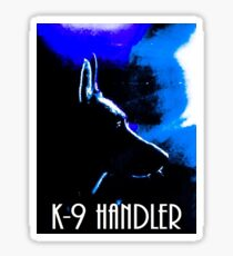 K9 Handler Sticker