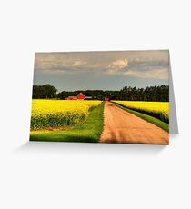 """""""Growing for Gold"""" Greeting Card"""