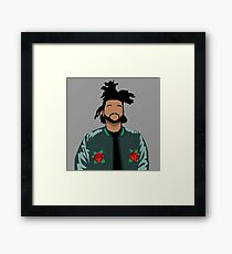 Weeknd Roses Framed Print
