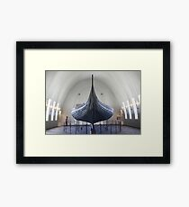 The Gokstad Viking Ship  Framed Print