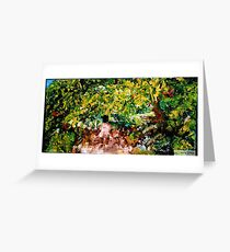 Summer Trees by Malinda Frances Knowles Greeting Card