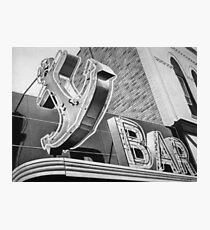 Anchor Bar Photographic Print