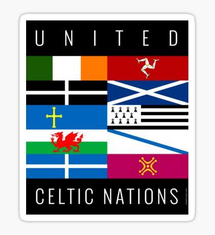 United Celtic Nations S01 Sticker