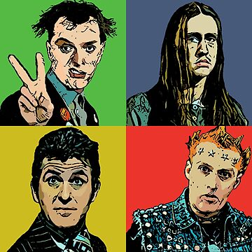 Rik , Neil , Mike , Vyvyan by funnyhow