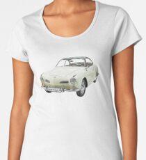 Car Classic Retro Tshirt Sportscar Women's Premium T-Shirt