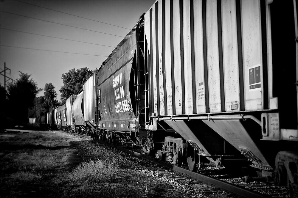 Train Cars by Scott Ward