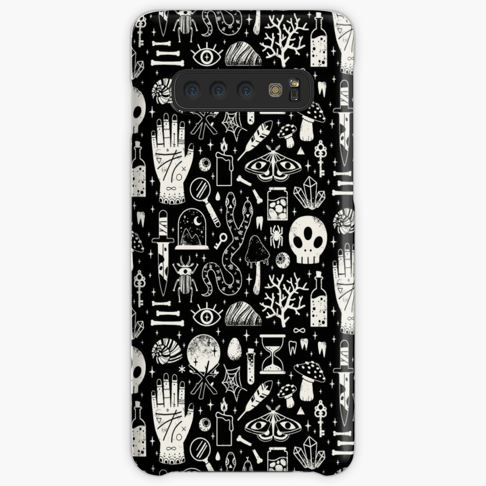 Curiosities: Bone Black Cases & Skins for Samsung Galaxy