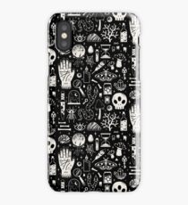 Curiosities: Bone Black iPhone Case/Skin