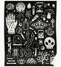 Kuriositäten: Bone Black Poster