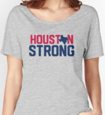 Houston Strong -Hurricane Harvey Relief Women's Relaxed Fit T-Shirt