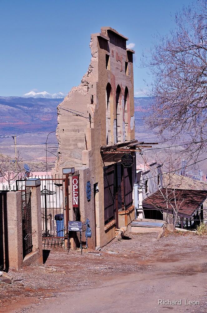 Old Mining Town  •  Jerome, Arizona by Richard  Leon