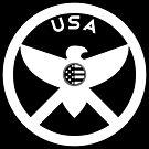 USA - EAGLE / MOLON LABE SHIELD by CentipedeNation
