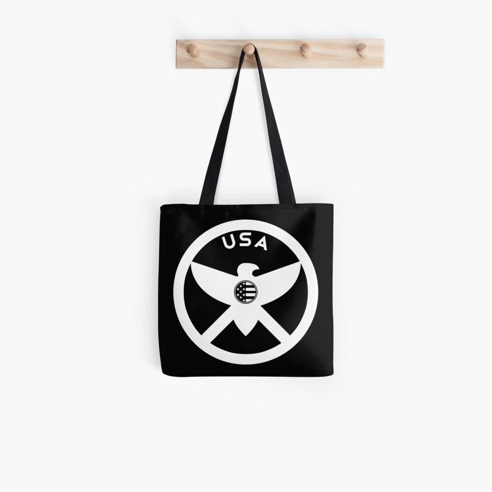 USA - EAGLE / MOLON LABE SHIELD Tote Bag