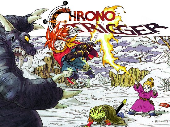 Quot Chrono Trigger Poster Retro Vintage Restoration Based On