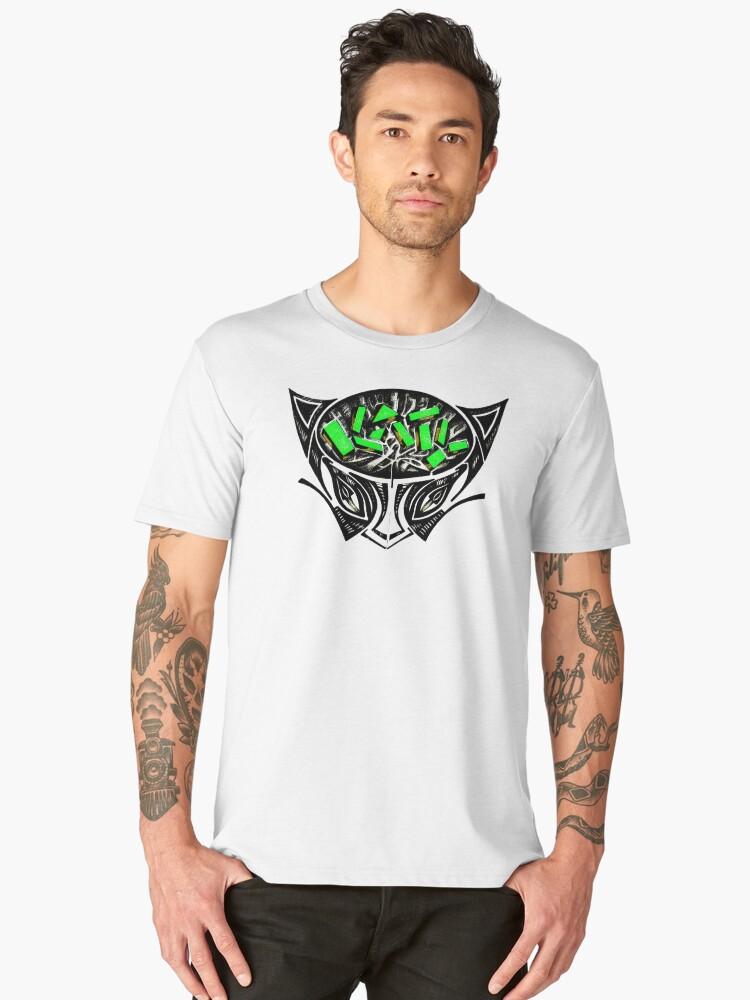 KATY CAT Men's Premium T-Shirt Front