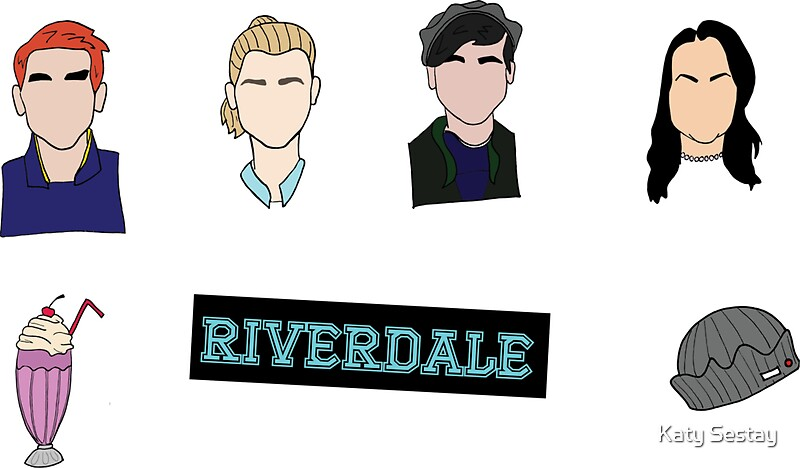 Quot Riverdale Stickers Quot Stickers By Mountainwoman Redbubble