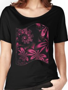 PASSION FLOWERS Women's Relaxed Fit T-Shirt