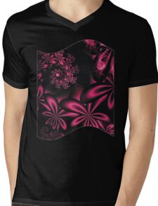 PASSION FLOWERS Mens V-Neck T-Shirt