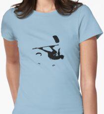 Freestyle Kiteboarder Turning The Whole World Upside Down T-Shirt