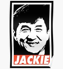 Obey Jackie Poster