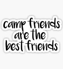 Lagerfreunde sind die besten Freunde Sticker
