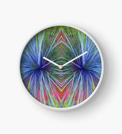 Mirrored Colors Clock
