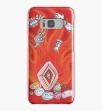 Die by the Fire, Born from the Ashes Samsung Galaxy Case/Skin