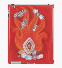 Die by the Fire, Born from the Ashes iPad Case/Skin
